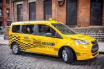 Ford Transit Connect Hybrid Taxi Prototype 2017 года