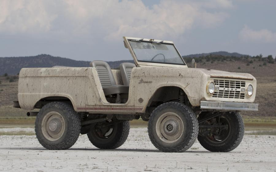 2018 Ford Bronco Derelict Roadster by ICON