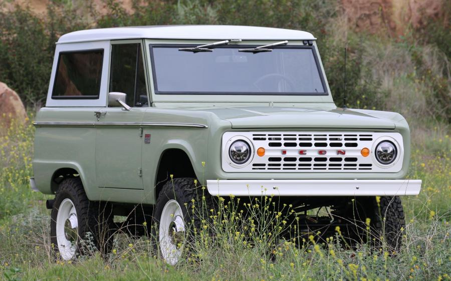 2018 Ford Bronco Old School BR by ICON