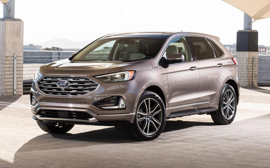 Ford Edge Titanium Elite Package (NA) '2018