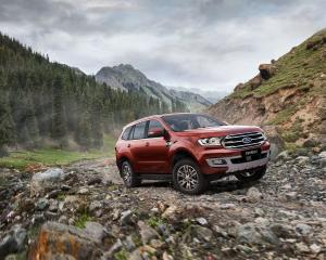 2018 Ford Everest Titanium