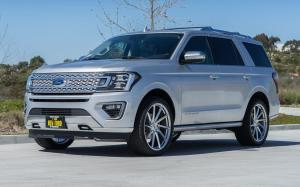 Ford Expedition Platinum by TAG Motorsports on Vossen Wheels (VPS-310T) 2018 года
