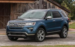 Ford Explorer Limited Luxury Edition 2018 года