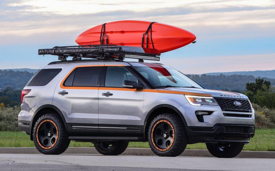 2018 Ford Explorer Sport Donation