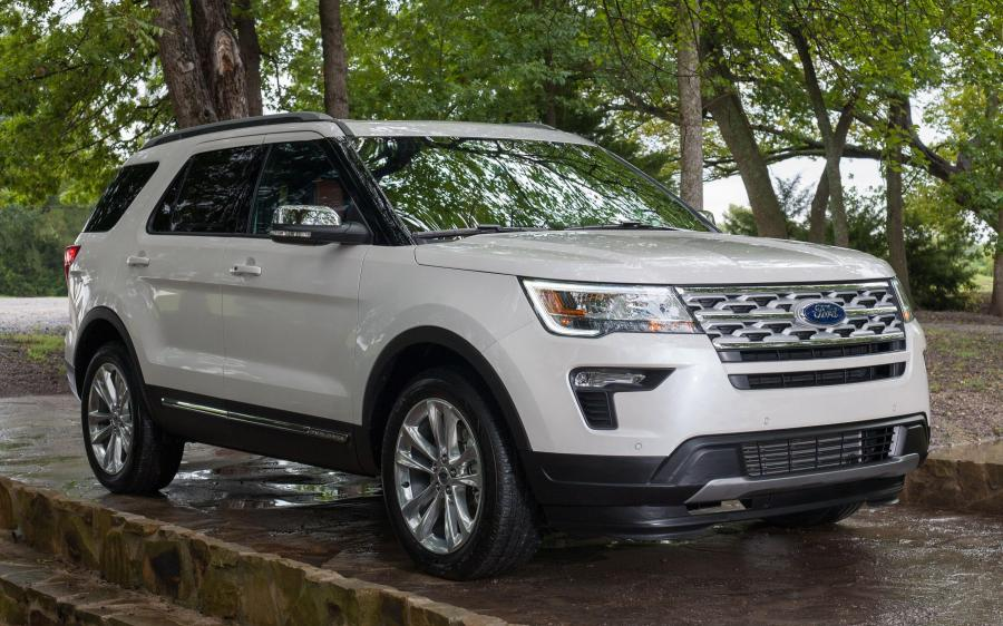 2018 Ford Explorer XLT Desert Copper Edition