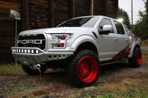 Ford F-150 Raptor on Forgiato Wheels (Vontoso-T) 2018 года