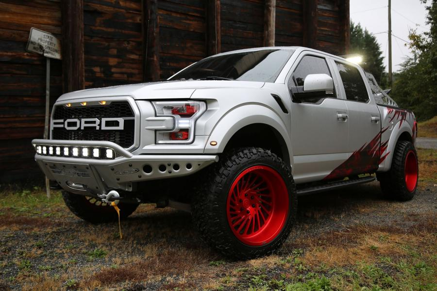 Ford F-150 Raptor on Forgiato Wheels (Vontoso-T)