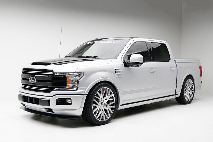 Ford F-150 by CWDesign on Forgiato Wheels (Fratello-ECL)