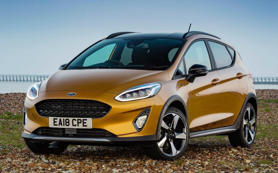 2018 Ford Fiesta Active (UK)