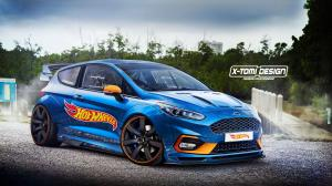 Ford Fiesta HotWheels by X-Tomi Design 2018 года