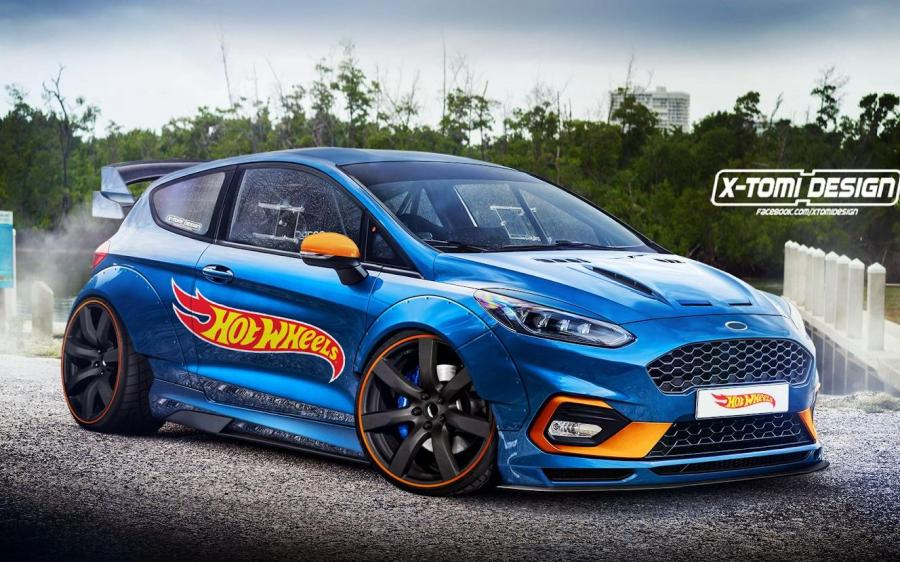 2018 Ford Fiesta HotWheels by X-Tomi Design