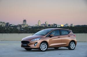 Ford Fiesta Trend 5-Door 2018 года