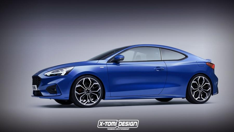 Ford Focus Coupe by X-Tomi Design