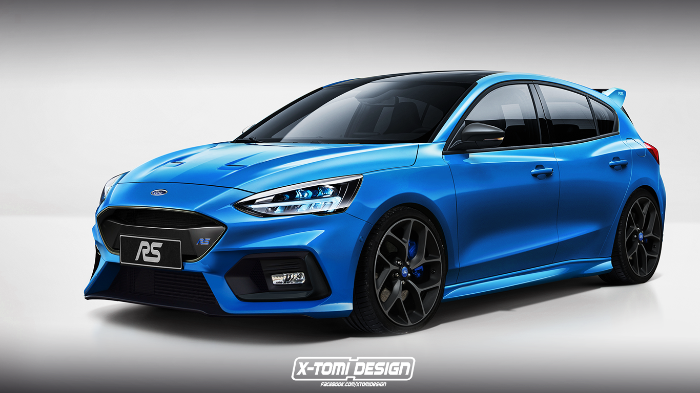 Ford Focus RS by X-Tomi Design 2018 года