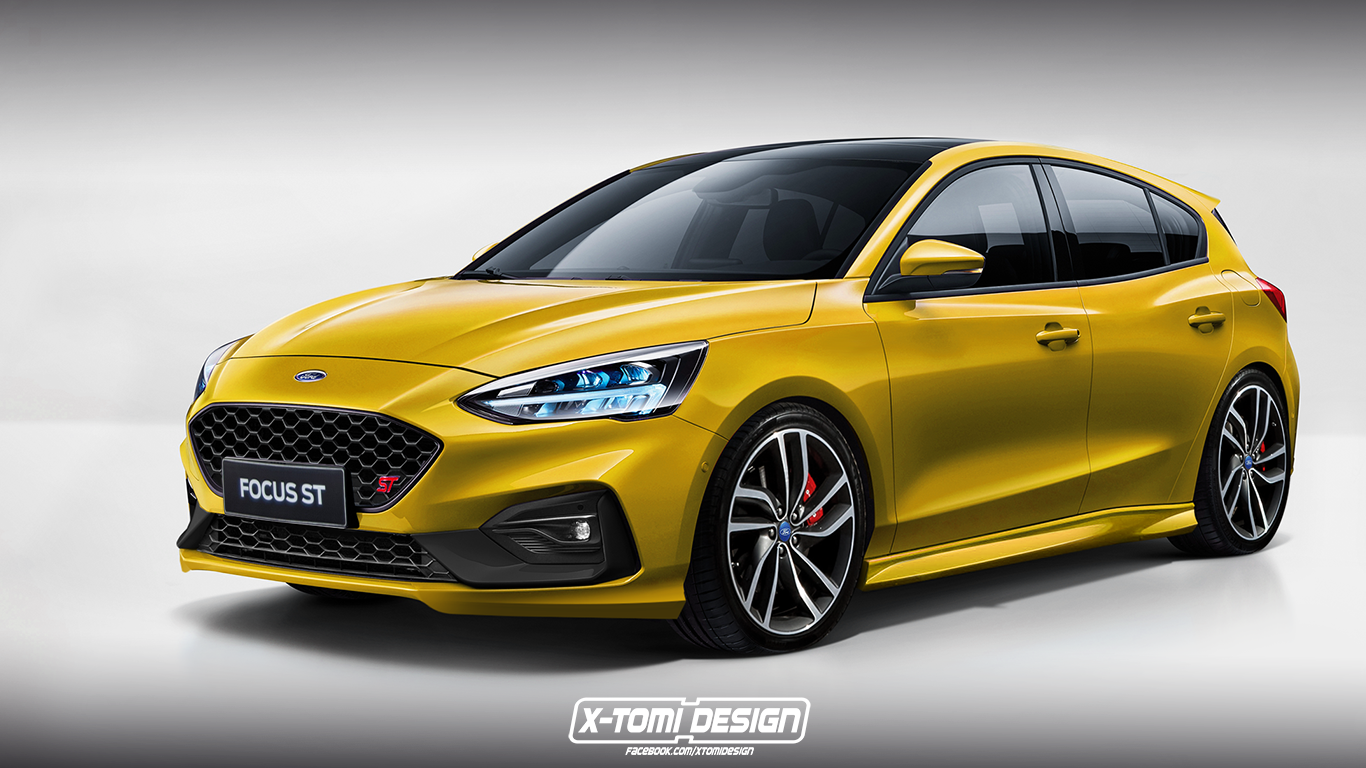 2018 Ford Focus ST by X-Tomi Design