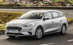 2018 Ford Focus Titanium Estate (UK)