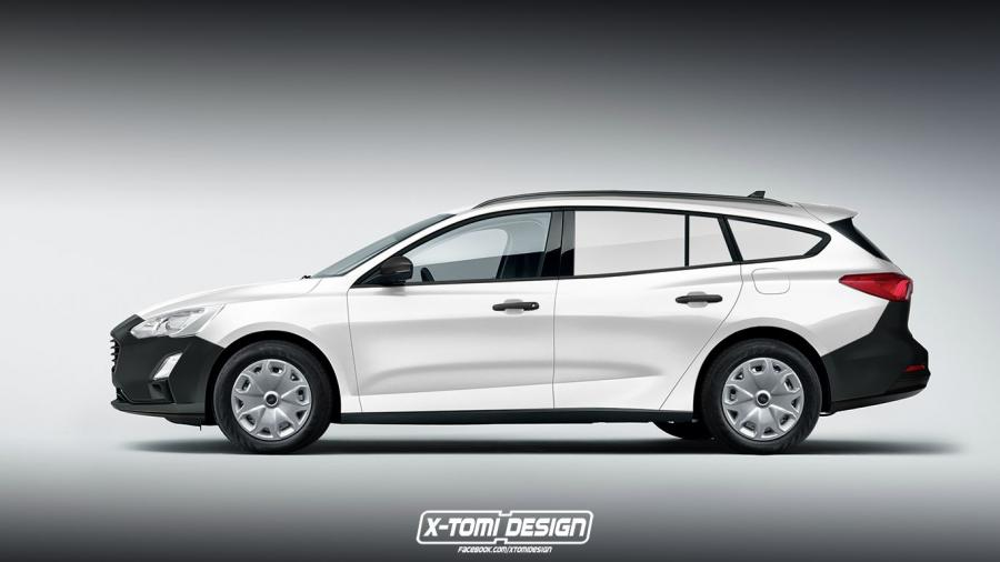 Ford Focus Turnier VAN by X-Tomi Design