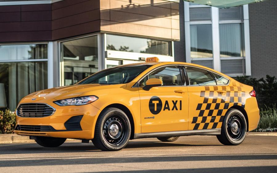 Ford Fusion Hybrid Taxi