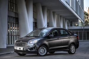 Ford Ka Titanium Sedan 2018 года