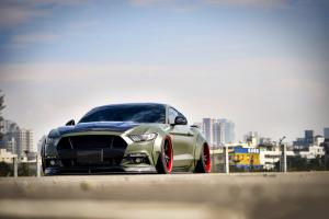 2018 Ford Mustang GT by Liberty Walk on Forgiato Wheels (S221-ECL)