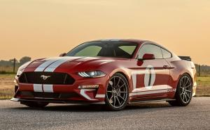 Ford Mustang Heritage Edition by Hennessey 2018 года