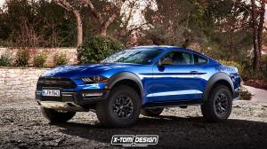 2018 Ford Mustang Raptor by X-Tomi Design