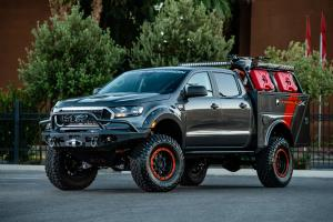 Ford Ranger XLT 4x4 SuperCrew Project X by BDS Suspension 2018 года