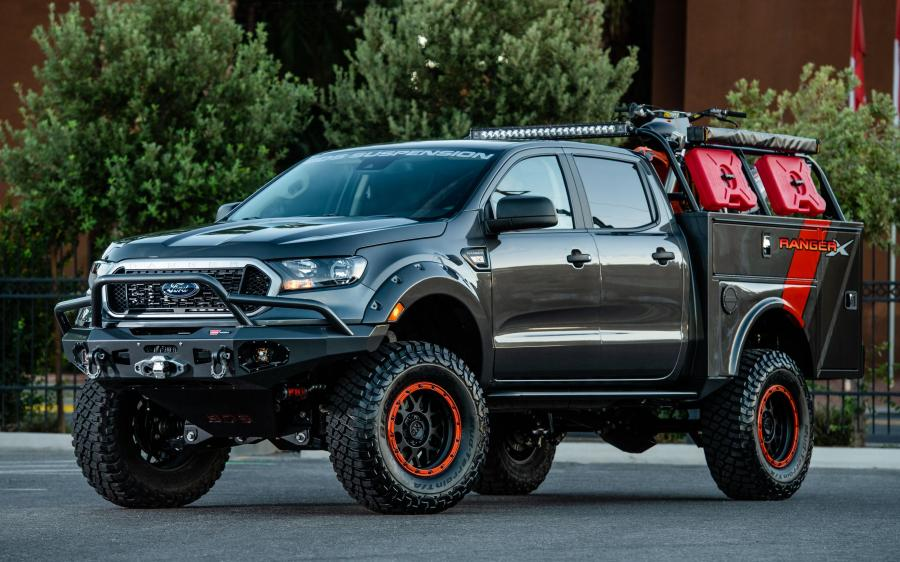 Ford Ranger XLT 4x4 SuperCrew Project X by BDS Suspension