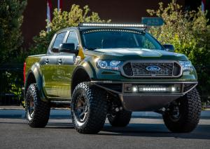 Ford Ranger XLT FX4 SuperCrew Baja-forged by LGE & CTS Motorsports 2018 года