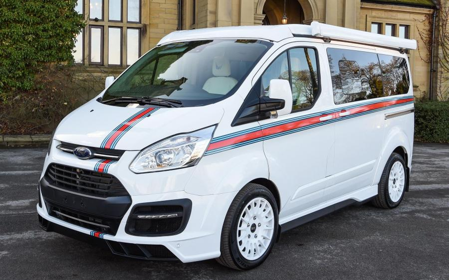 Ford Tourneo Custom Special Edition Terrier by MS-RT & Wellhouse '2018