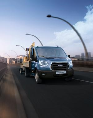 Ford Transit Chassis Cab L3 2018 года