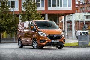 Ford Transit Custom PHEV 2018 года