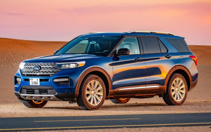 Ford Explorer Limited (UAE) '2019
