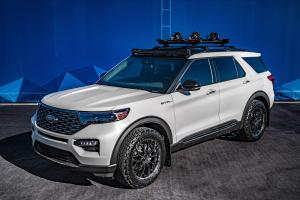 2019 Ford Explorer Limited Hybrid by Blood Type Racing