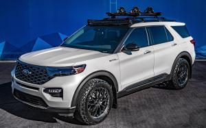 Ford Explorer Limited Hybrid by Blood Type Racing