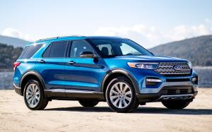 Ford Explorer Limited Hybrid 2019 года