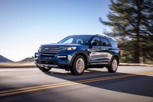 Ford Explorer Limited 2019 года
