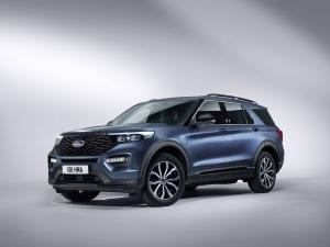 Ford Explorer Plug-in Hybrid ST-Line 2019 года
