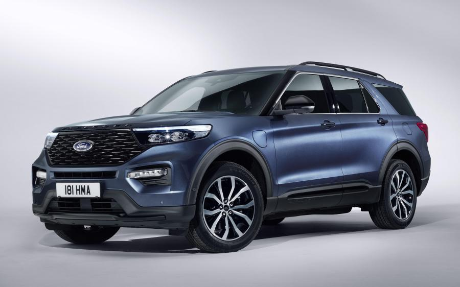2019 Ford Explorer Plug-in Hybrid ST-Line (WW)