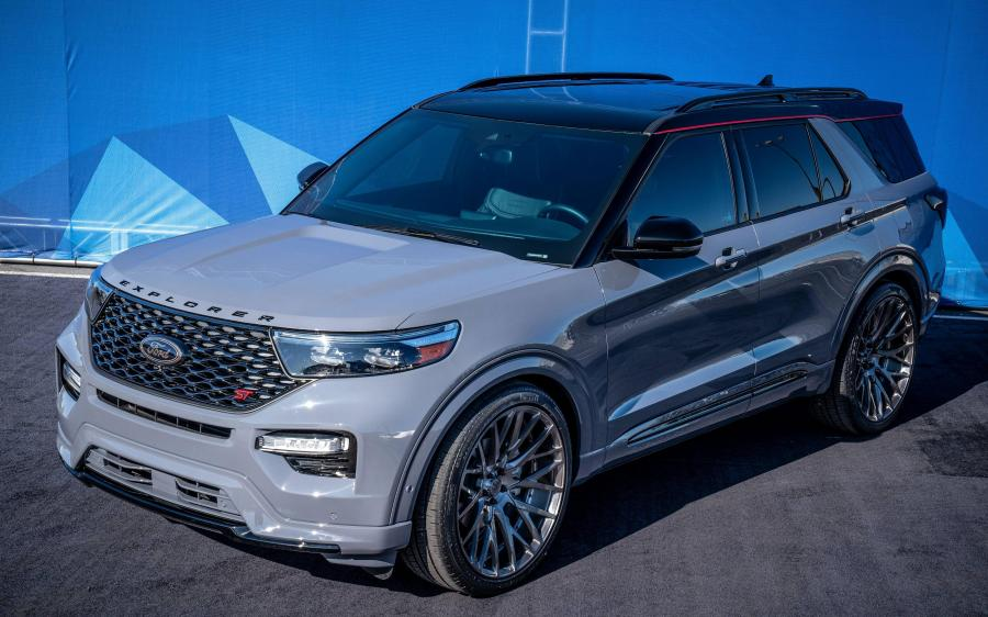 2019 Ford Explorer ST by CGS Performance Products