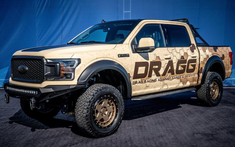2019 Ford F-150 Lariat Sport 4x4 SuperCrew by DRAGG
