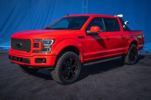 2019 Ford F-150 Lariat Sport Crew Cab with Black Appearance Package by Ford Accessories