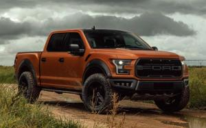 Ford F-150 Raptor on Vossen Wheels (HF6-2) 2019 года