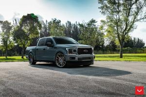 Ford F-150 SuperCrew on Vossen Wheels (HF6-1) 2019 года