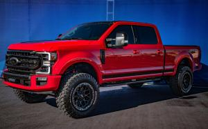 Ford F-250 Super Duty Tremor Crew Cab with Black Appearance Package by CGS Performance 2019 года