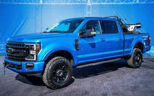 2019 Ford F-250 Super Duty Tremor Crew Cab with Black Appearance Package by Ford Accessories