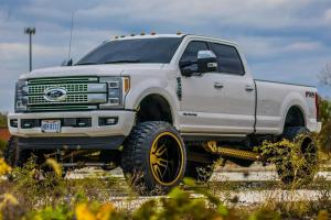 Ford F-350 Platinum Super Duty King Ranch Crew Cab on Forgiato Wheels (Sedici-T) 2019 года