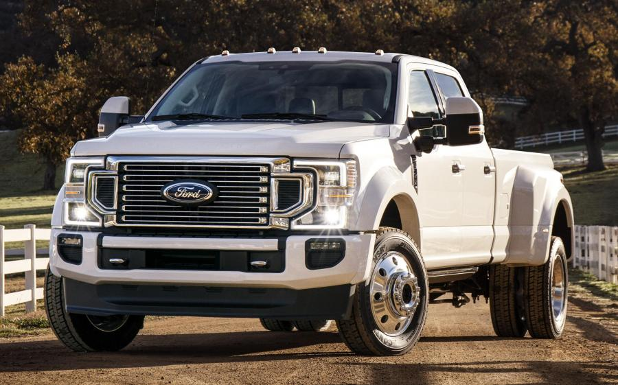 Ford F-450 Super Duty Limited Crew Cab