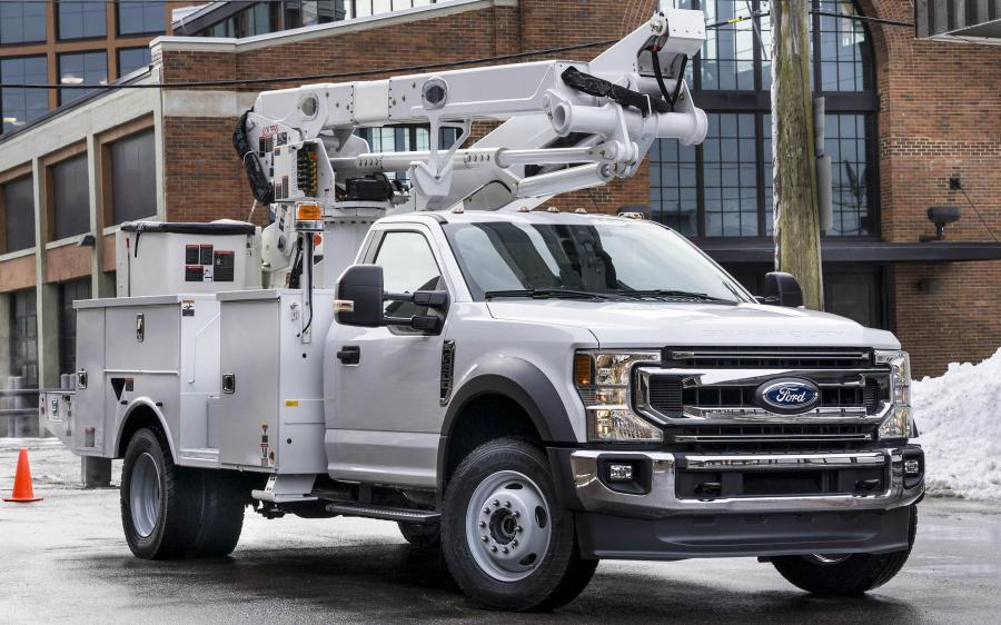 Ford F-600 Super Duty XLT Chassis Cab Release Truck