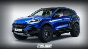 Ford Kuga Raptor by X-Tomi Design 2019 года